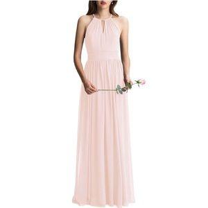 Nordstrom #LevKoff Chiffon A-Line Dress